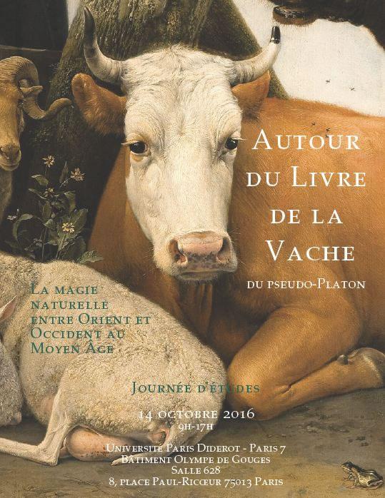 Réunion d'étude autour du Livre de la Vache