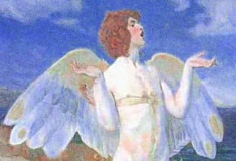 Энгус, ирландский бог любви, сын Дагды, это драматично