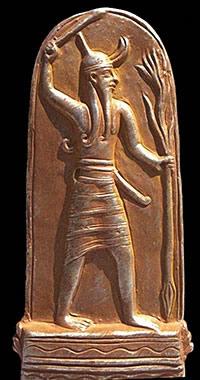 Боги Эль и Ваал у истоков Яхве и Белзебута, это драматично