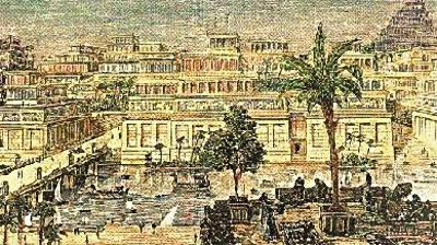 Représentation de Babylone