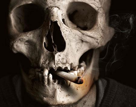 Cigarette allumée