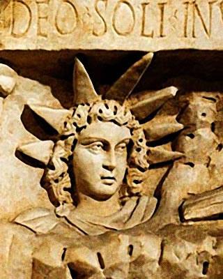 Mithra, Dieu Soleil