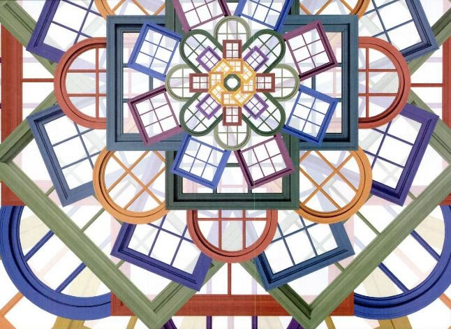 Les fenêtres sur les plans de l'univers