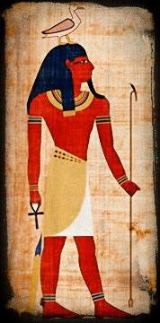 Геб и Нут, космические божества Древнего Египта, драматичны