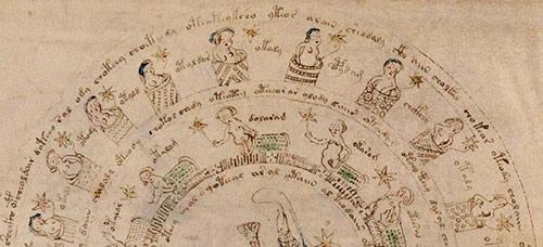 Femmes dans des bains / manuscrit de Voynich