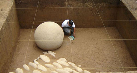 Fouilles archéologiques au Costa Rica