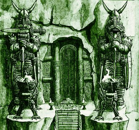 Démons gardiens du sanctuaire