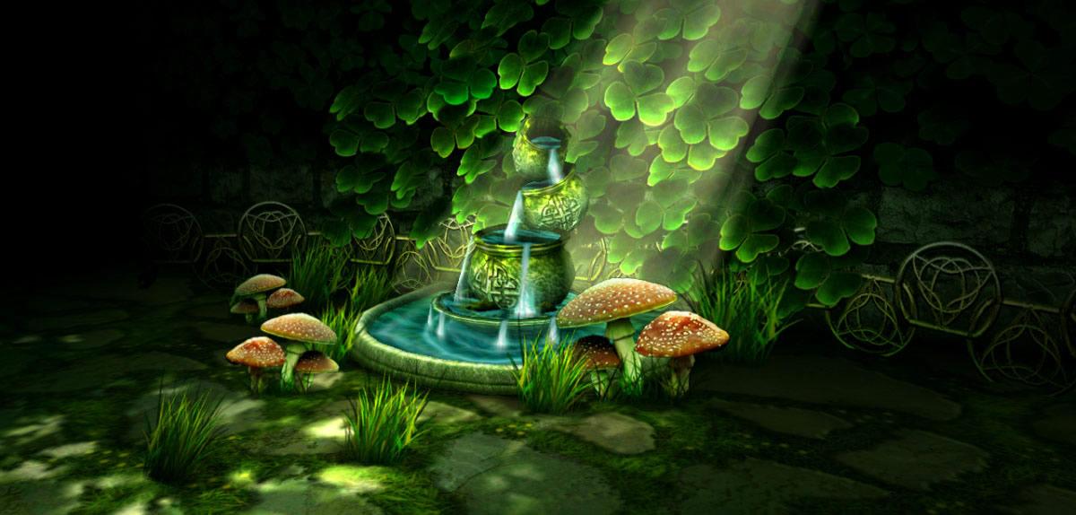 Un jardin celtique