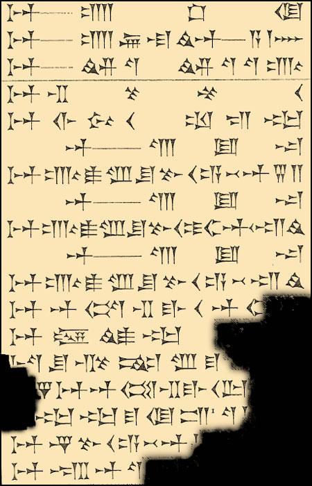 Textes magiques cunéiformes babyloniens