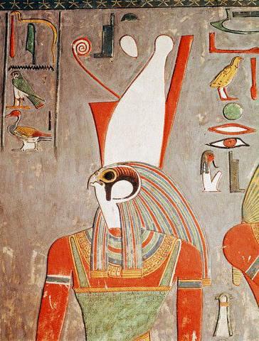 Dieu Horus Egyptien