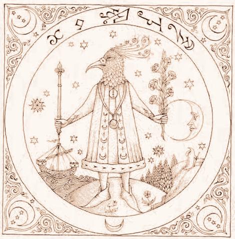 Illustration du Picatrix en Latin