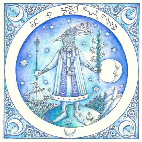 Les effets de la lune - Illustration du Picatrix Latin