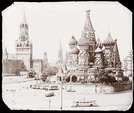 Place rouge et Kremlin