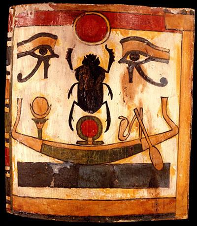 Khépri, dieu du soleil levant
