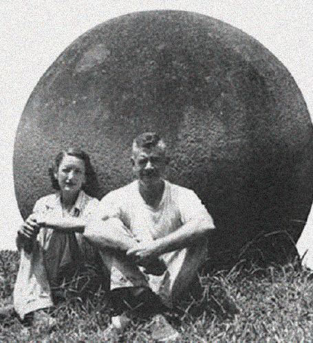 Samuel Lothrop et sa femme