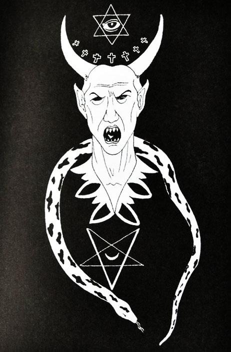 Поклонение дьяволу в средние века и эпоху Возрождения драматично