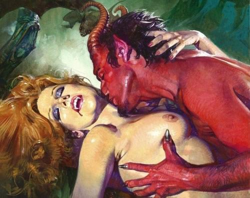 Femme Vampire et le Diable