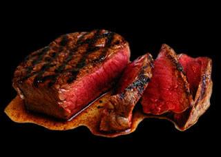 viande saignante