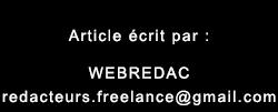 webredac - redacteurs freelance