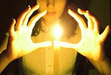 La magie avec des bougies